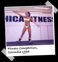 Naty in a Fitness Competition