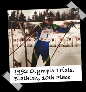 bill during the Olympic Trials.