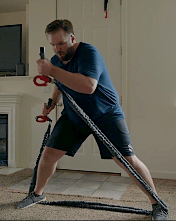 CATALYZER, strength workout at home with 2 Powercords