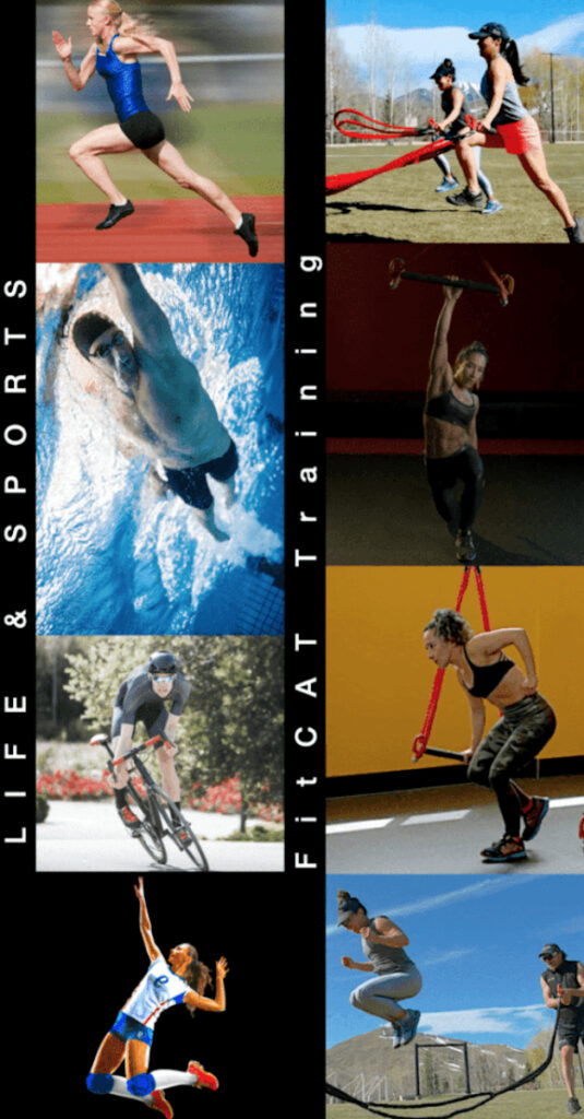 Run, swim, bike and voleyball.. different sports and all of them using the core as an engine